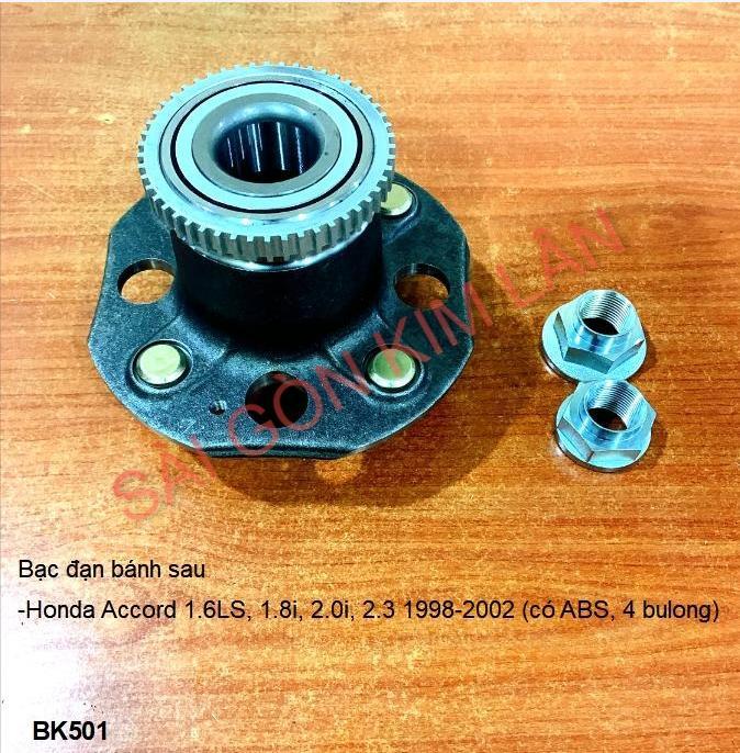 Bạc đạn bánh Honda Accord 1.6LS, 1.8i, 2.0i, 2.3 1998-2002 (có ABS, 4bulong)