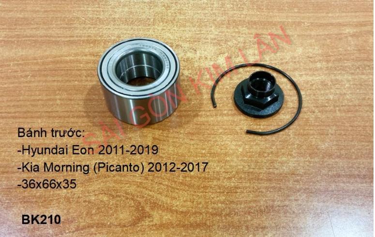 Bạc đạn bánh Hyundai Eon 2011-2019