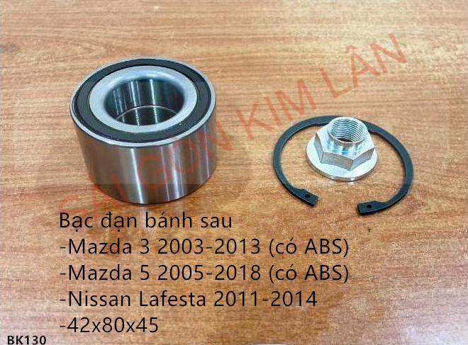 Bạc đạn bánh Mazda 5 2005-2007 (có ABS)