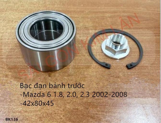 Bạc đạn bánh Mazda 6 1.8, 2.0, 2.3 2002-2008