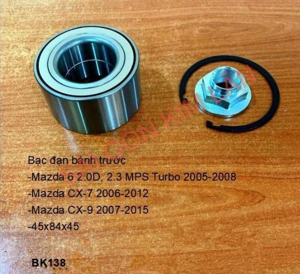 Bạc đạn bánh Mazda 6 2.0D, 2.3 MPS Turbo 2005-2008