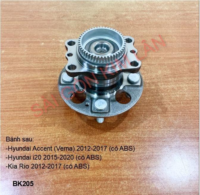 Bạc đạn bánh Hyundai i20 2015-2020 (có ABS)