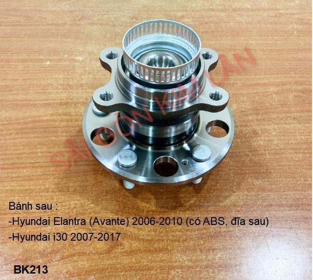 Bạc đạn bánh Hyundai Elantra (Avante) 2006-2010 (có ABS, đĩa Bạc đạn bánh sau)