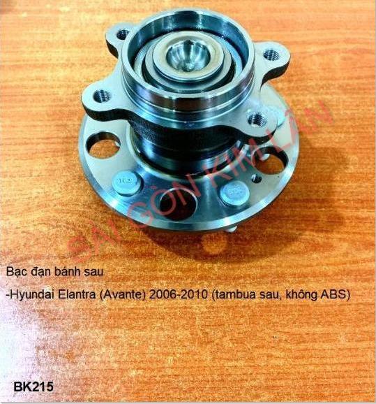 Bạc đạn bánh Hyundai Elantra (Avante) 2006-2010 (tambua Bạc đạn bánh sau, không ABS
