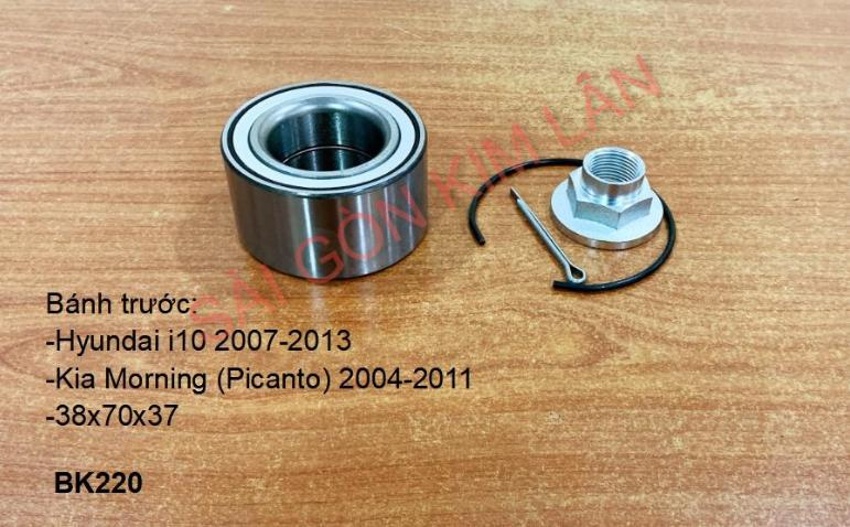 Bạc đạn bánh Kia Morning (Picanto) 2004-2011