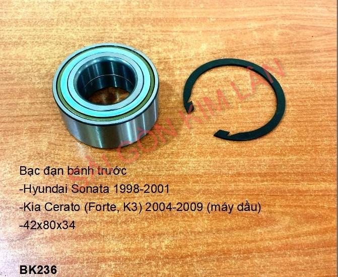 Bạc đạn bánh Kia Cerato (Forte, K3) 2004-2009 (máy dầu)