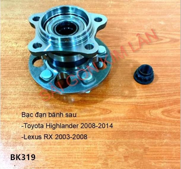 Bạc đạn bánh Toyota Highlander 2008-2014