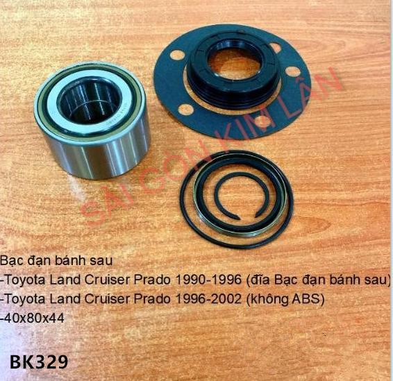 Bạc đạn bánh Toyota Land Cruiser Prado 1990-1996 (đĩa Bạc đạn bánh sau)