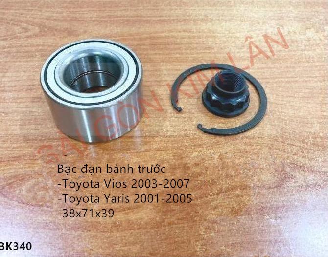 Bạc đạn bánh Toyota Yaris 2001-2005