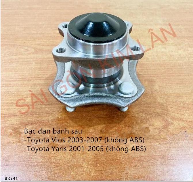 Bạc đạn bánh Toyota Yaris 2001-2005 (không ABS)
