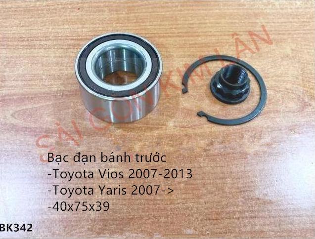 Bạc đạn bánh Toyota Yaris 2007->