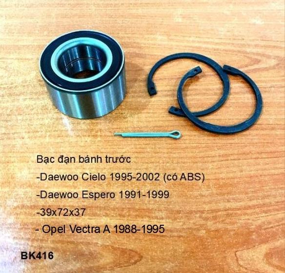 bạc đạn bánh Daewoo Espero 1991-1999