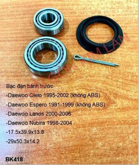 Bạc đạn bánh Daewoo Espero 1991-1999 (không ABS)