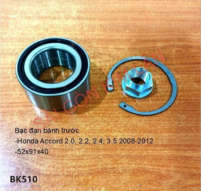 Bạc đạn bánh Honda Accord 2.0, 2.2, 2.4; 3.5 2008-2012