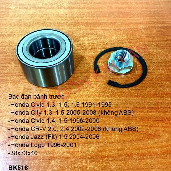 Bạc đạn bánh Honda Civic 1.3, 1.5, 1.6 1991-1995