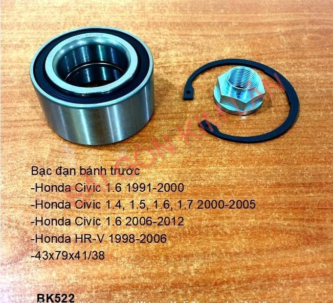 Bạc đạn bánh Honda Civic 1.6 1991-2000