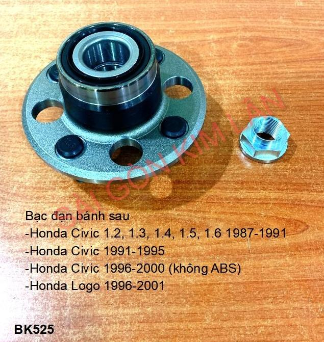 Bạc đạn bánh Honda Civic 1.2, 1.3, 1.4, 1.5, 1.6 1987-1991