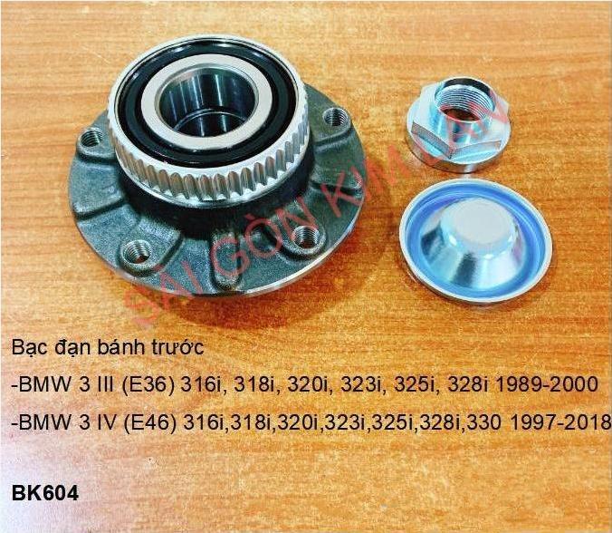 Bạc đạn bánh BMW 3 III (E36) 316i, 318i, 320i, 323i, 325i, 328i 1989-2000
