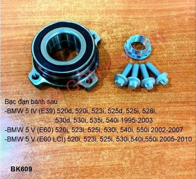Bạc đạn bánh BMW 5 IV (E39) 520d, 520i, 523i, 525d, 525i, 528i, 530d, 530i, 535i, 540i 1995-2003