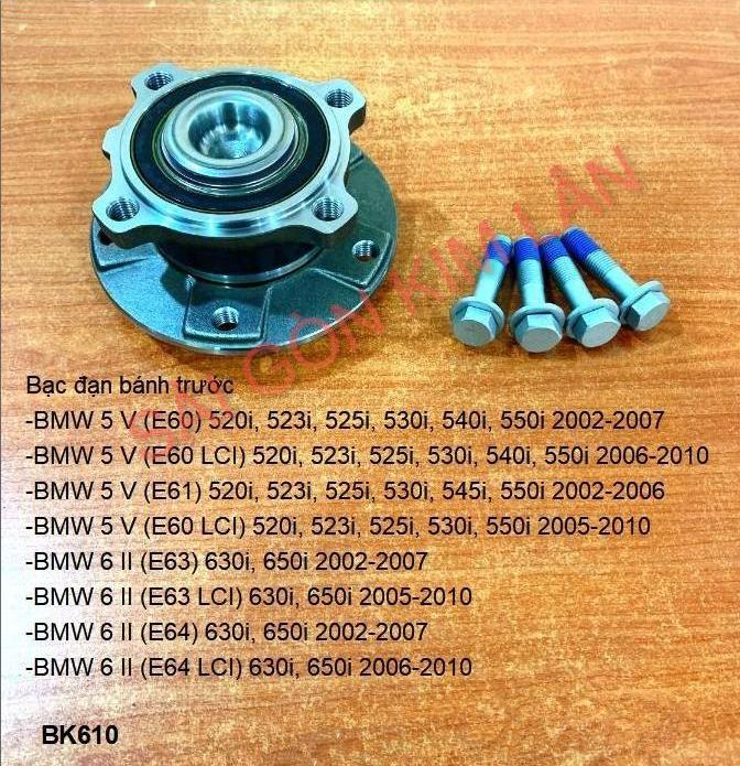 Bạc đạn bánh BMW 5 V (E60) 520i, 523i, 525i, 530i, 540i, 550i 2002-2007