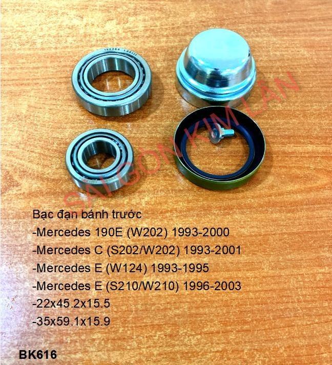 Bạc đạn bánh Mercedes C (S202W202) 1993-2001