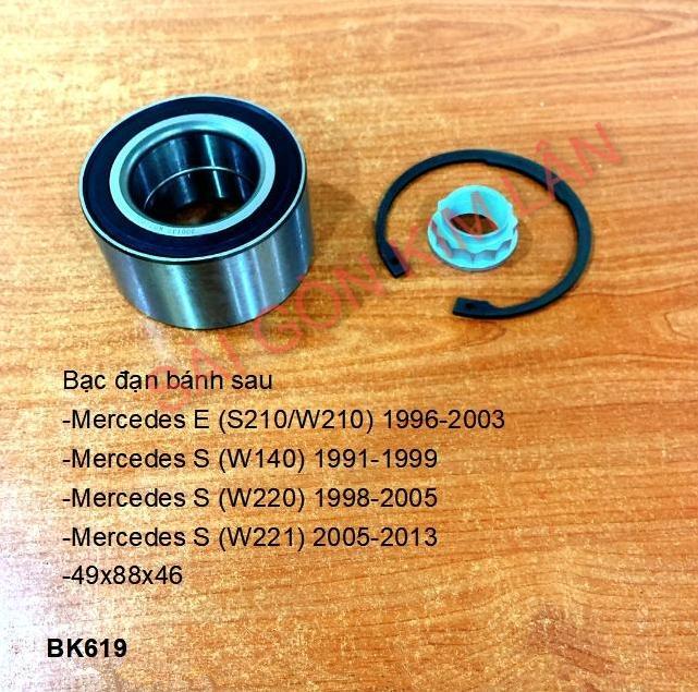 Bạc đạn bánh Mercedes S (W140) 1991-1999