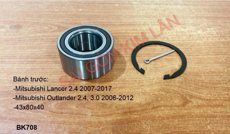 Bạc đạn bánh Mitsubishi Outlander 2.4, 3.0 2006-2012