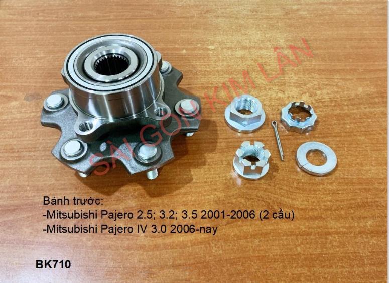 Bạc đạn bánh Mitsubishi Pajero 2.5; 3.2; 3.5 2001-2006 (2 cầu)