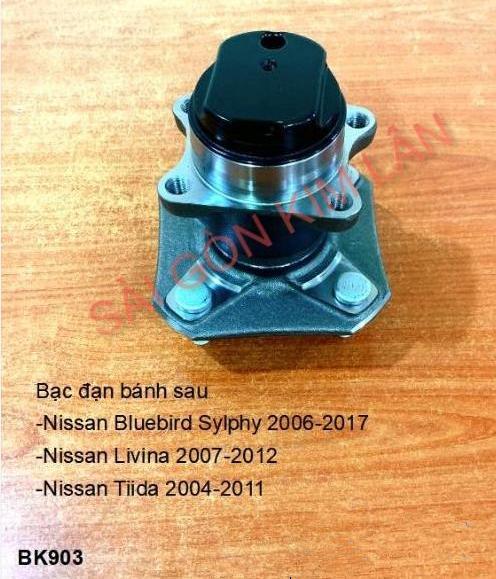 Bạc đạn bánh Nissan LIVINA 2007-2012