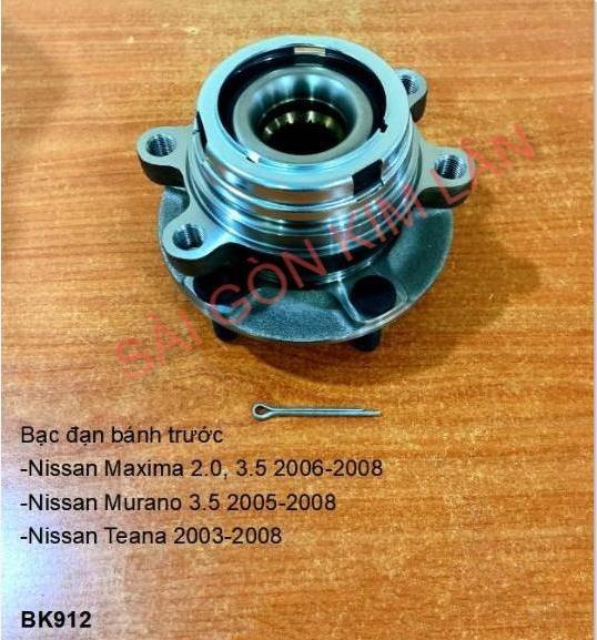 Bạc đạn bánh Nissan Teana 2003-2008