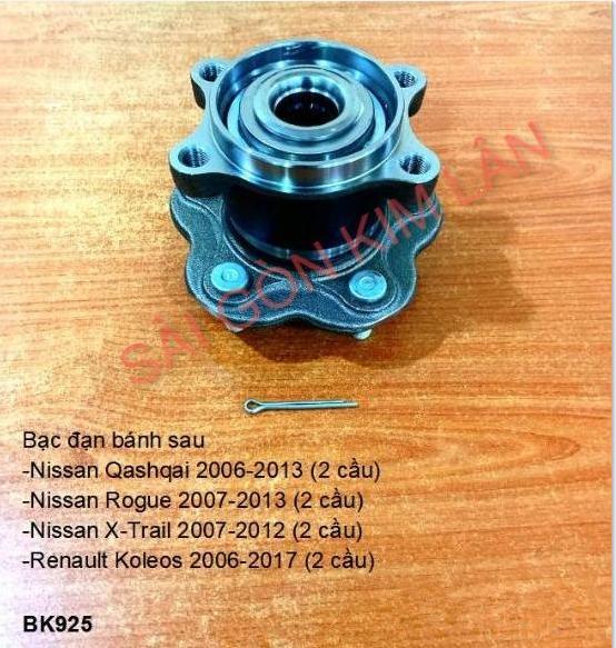 Bạc đạn bánh Nissan Qashqai 2006-2013 (2 cầu)