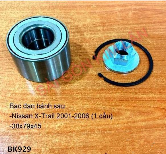 Bạc đạn bánh Nissan X-Trail 2001-2006 (1 cầu)