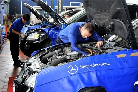 Mua phụ tùng ô tô Mercedes-Benz chính hãng với 5 kinh nghiệm sau