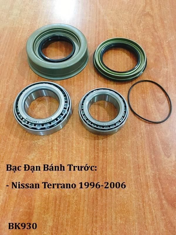 Bạc đạn bánh Nissan Terrano 1996-2006