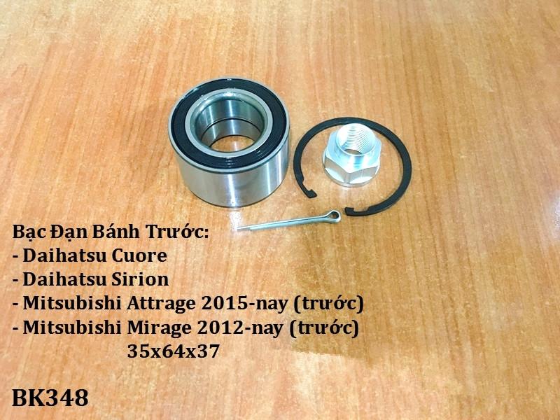 Bạc đạn bánh Mitsubishi Mirage 2012-nay (trước)