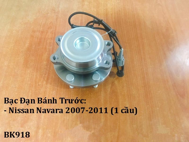 Bạc đạn bánh Nissan Navara 2007-2011 (1 cầu)