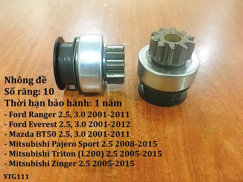 Nhông Đề Ford Everest 2.5, 3.0 2001-2012