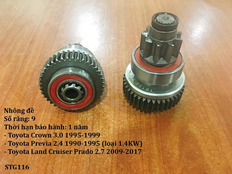 Nhông đề Toyota Land Cruiser Prado 2.7 2009-2017