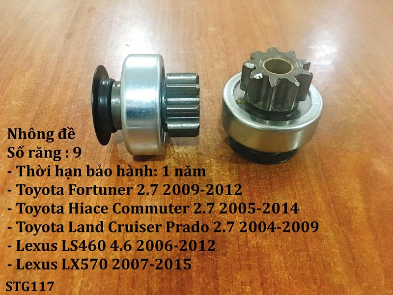 Nhông đề Toyota Land Cruiser Prado 2.7 2004-2009